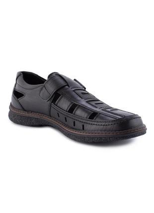 Мужские туфли на липучках