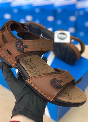Сандали мужские адидас босоножки adidas отличное качество кроссовки обувь