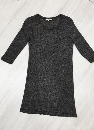 Удлинённая футболка хлопок/шесть iro (нюанс)