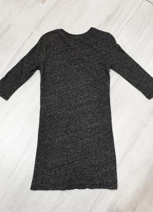 Удлинённая футболка хлопок/шесть iro (нюанс)5 фото