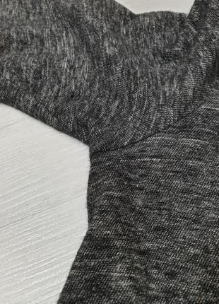 Удлинённая футболка хлопок/шесть iro (нюанс)4 фото