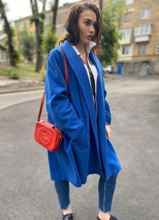 Laurel by escada пальто халат чистая натуральная шерсть l-xl