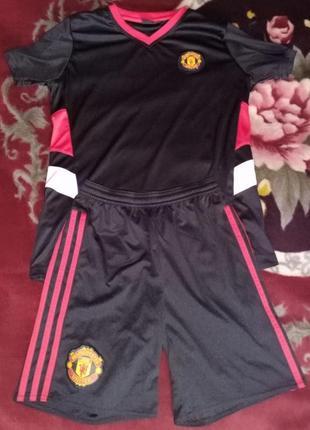 Детская футбольна форма fc manchester united