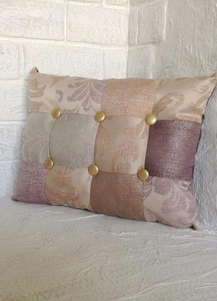 Подушка для дивана. декоративная. двухсторонняя.