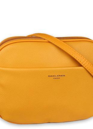Супер модный желтый клатч david jones