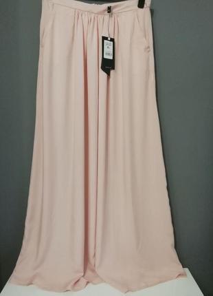 Юбка длинная нежно розовая moodo