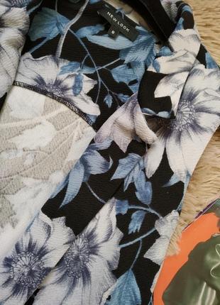 Красивый удлиненный кардиган в цветочный принт/жилетка/жилет/накидка2 фото