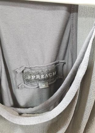 Топ майка футболка preach ( rundholz, rick owens)5 фото