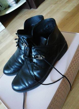Ботинки кожа1 фото