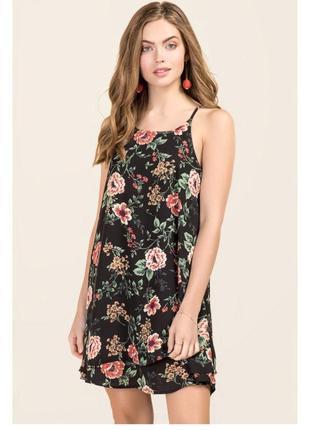 Sale! платье оверсайз в цветы, есть размеры