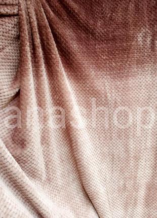 Бамбуковое плед покрывало, плед бамбук, плед пчелиные соты, покрывало с переливом