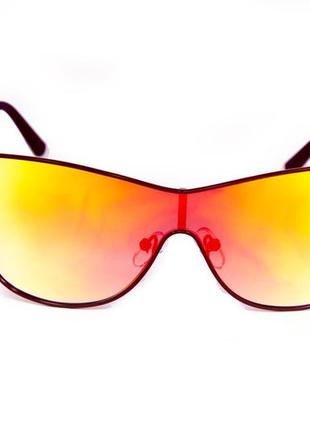 Солнцезащитные оригинальные женские очки маска