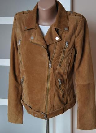 Кожаная куртка косуха street one / шкіряна куртка2 фото