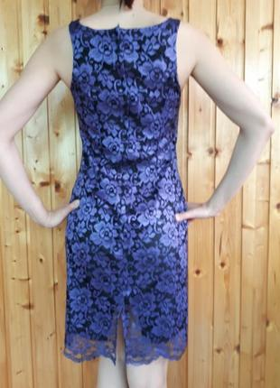 Sale коктейльное вечернее платье из гипюра