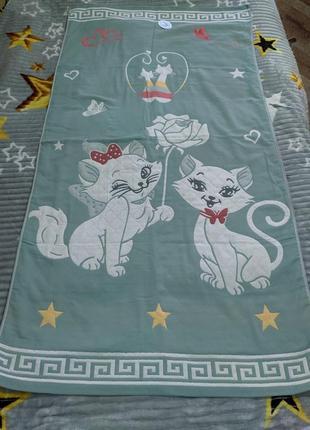Хлопковое (льняное) полотенце- покрывало
