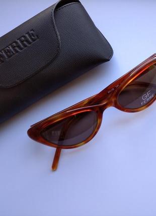 Солнцезащитные очки ретро кошачий глаз gianfranco ferre ff747 03