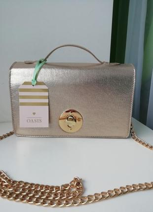 Фірмова англійська сумка кросбоді oasis!!! оригінал!!!