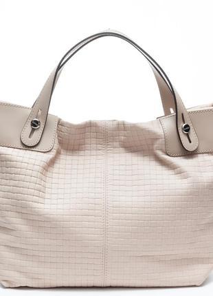 Стильная летняя сумка из натур.кожи.бренд:ripani