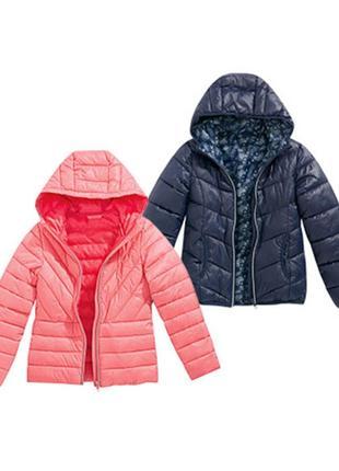 Распродажа!!! легкая розово-пудровая деми куртка с капюшоном девочке alive