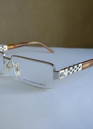 Фирменная оправа, очки rock& republic rr006-03