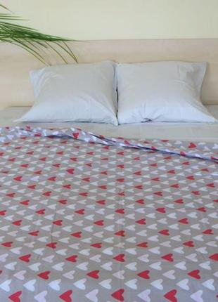 Комплект постельного белья маленькие сердечки