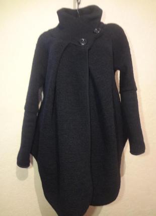 Обалденное шикарное стильное итальянское пальто размер м l
