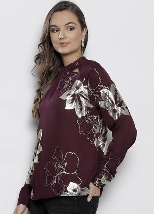 Нарядная блузка золотые цветы dorothy perkins 16--48-50 размер.