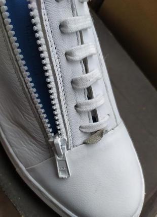 Кожаные кроссовки / мокасины / сникерсы  jack & jones5 фото