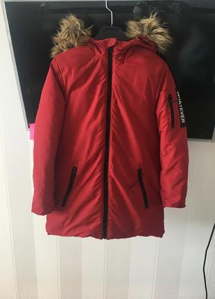 Zara зимняя куртка пуховик