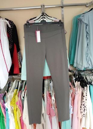 Стильные трикотажные брюки леггинсы