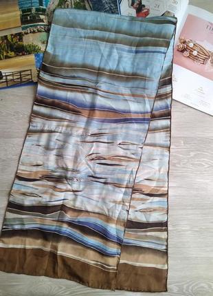 Шелковый шарф 100% шелк