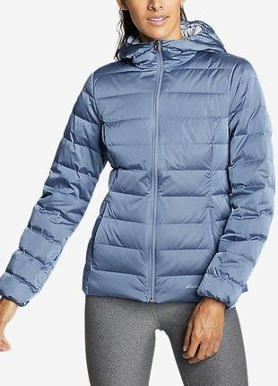 Ультралегкий пуховик eddie bauer cirruslite down hooded jacket