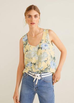 Топ блуза mango