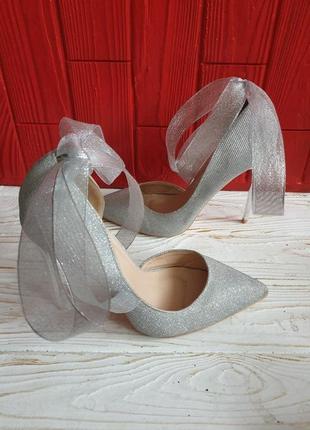 Glamorous туфлі із текстилю 38р.