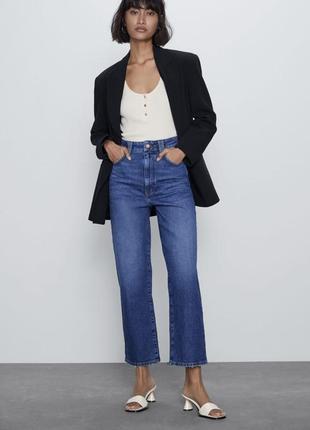 Джинси джинсы базовые zara