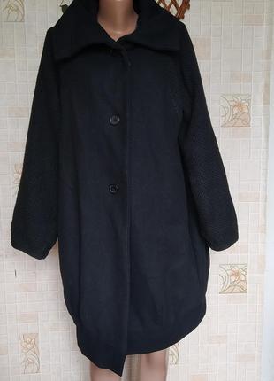 Комбинированное пальто 650