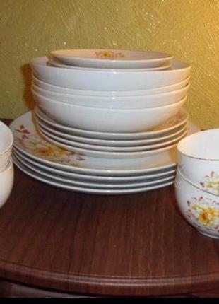 Набор посуды новый