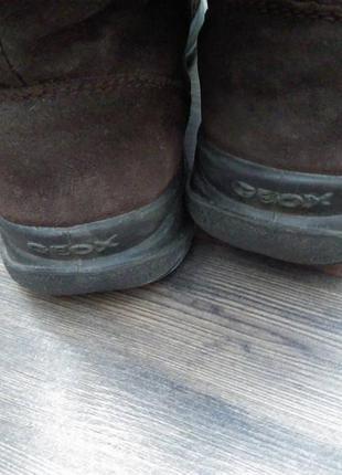 Ботинки зимние geox
