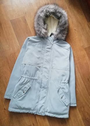 Стильная курточка, куртка, парка, пальто1 фото