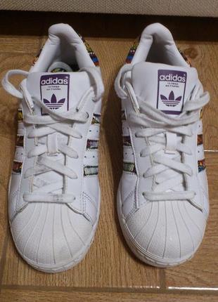 Кроссовки женские adidas originals superstar the farm кросівки жіночі адідас р.36.5-37🇮🇩