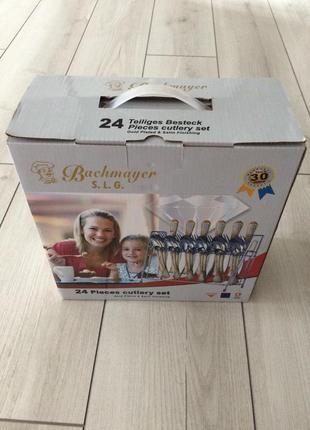 Набір столових предметів bachmayer bm 2408 elegant 24 предмети
