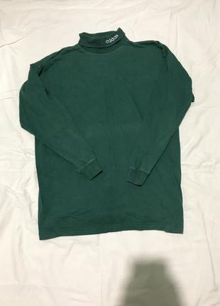 Гольф adidas оригинальный винтажный свитер водолазка