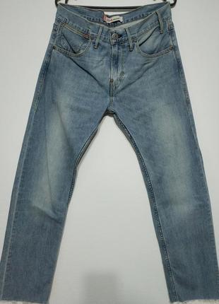 W31 l31 сост нов levis 504 джинсы голубые светлые мужские брендовые zxc