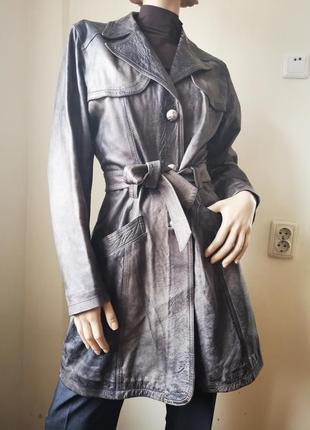 Oakwood коданый плащ, тренч, пальто