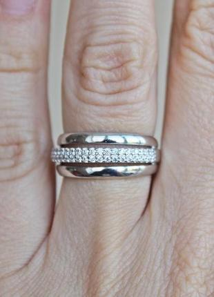 Серебряное кольцо каир р.17
