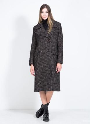 Итальянское новое пальто клетка размер с/м imperial