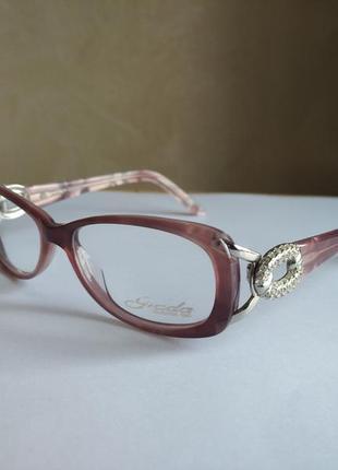 Фирменная новая оправа под линзы, очки giada 107 05