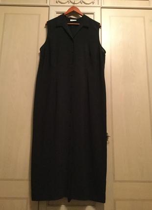 Стильное платье-рубащка  - батал - от gerry weber.