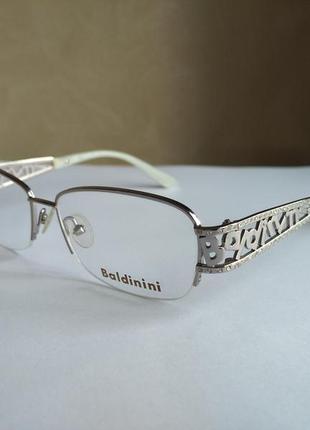 Брендовая оправа под линзы очки оригинал baldinini gm30033  новая