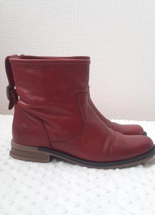 Самые удобные кожаные ботинки tamaris 38 размер